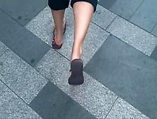 Sexy Feet Cute Soles Toes In Flip Flops