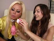Cassie Laine And Nikita Von James - Women Tribbing Teens