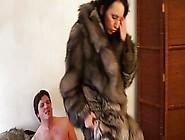 Hot Brunette Gets Fucked In Fur 2