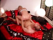 Blonde With Big Tits Fucks Guy Crazy