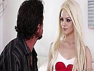 Stepdad Caught Her Daughter Having Phone Sex - Elsa Jean