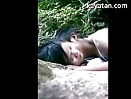 Cute Amateur Malay Couple Play Outdoors