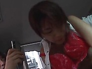 Nice Lecturer Riko Tachibana Has A Moth Band Copulate