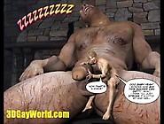 Jack & Beanstalk Animated 3D Gay Cartoon Comic Famous Fairy Tale