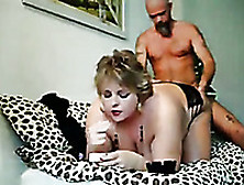 Extremely Hot Big Breasted Blonde Housewife Was Bent Over And Fu