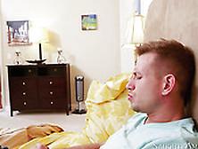 Lubricious Babe Valentina Nappi Sucks Bill Bailey's Juicy Cock