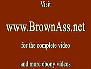 Brown Round Beauties Ass Bounces While Fucked