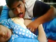 Horny Mature Indian Wife Doing Sex With Hubby's Friend On