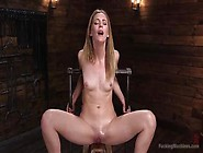 Beautiful Blonde Babe Mona Wales Orgasms Intensely Using Fuck Ma