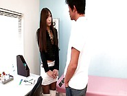 Two Cocky Doctors Seduced One Hot Brunette Jap Hoe Natsuki Yoshi