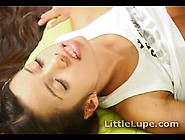 Latina Pornstar Little Lupe Rides It Hard And Gets Cummed On