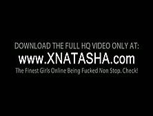 Teen Lusty Natasha Shy Nailing Her Fuck Hole With A Big Dildo