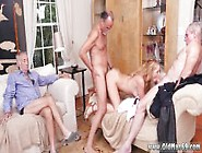 Old Man Sucking Young Cock And Blonde Old Lady Frankie And The G