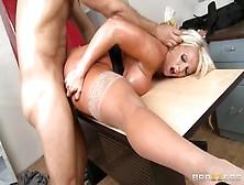 Amazing Breasty Maried Female Alura Jenson Enjoy Ass Drilling