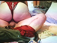 Horny Mother In Sexy Corset Creampied By Her Son