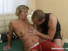 image Gabina dirty czech lady in uniform jerking off patient cock