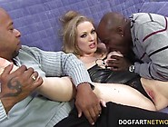 Double Dicking With Big Black Cocks - Vicky Vixen