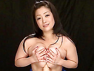 Salacious Asian Cougar With Huge Tits Playing With A Stranger's