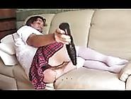 Transvestite Sissy Schoolgirl Anal Fisting Toy Lingerie 207