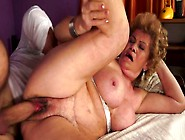 Ugly Fat And Wrinkled Whore With Huge Saggy Tits Gives A Blowjob