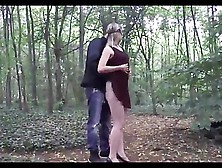 Stranger Fucks Wife In Woods