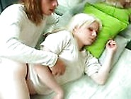 Sleeping Blonde Girl Taken Advantaged Inside Bedroom