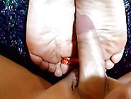 Cumming On My Boyfriends Sexy Feet