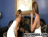 Amanda And Haley - Mother And Daughter In Sizzling Interracial T