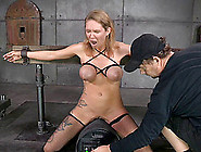 Rain Degrey Is A Tied Up Sex Slave Who Likes Being Face Fucked