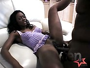 Ebony Hottie Shanked