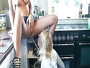 Lesbians Piss In Kitchen By Troc