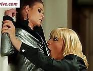 Blonde Crossdresser Fucking A Girl