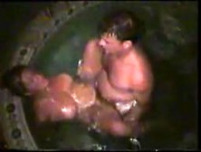 Real Wife Fucking Stranger In Backyard Jacuzzi