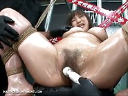 Extreme Japanese Whore Gets Tied Up & Played With