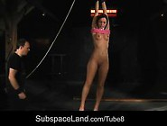 Punished, Used And Fucked Hot Slave Girl!