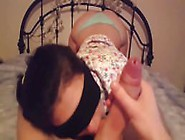 Hot And Beautiful Blindfolded Girl With Daddy Issuses Deepthroat