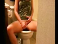 My Sister Caught Masturbating In Toilet By Hidden Cam