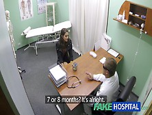 Sexy Hotty With Large Breasts Acquires Doctors Treatment Previou