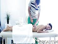 Hot Sex Inside Massage Saloon