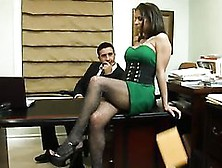 Slutty Agent Rachel Roxxx Has Hardcore Sex With Her Horny Boss