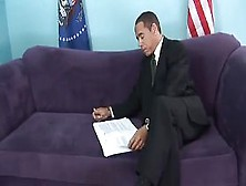 Allmond Meets The President...  Bk201