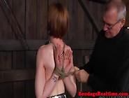 Bdsm Sub Hand Tied Hazel Hypnotic Walks