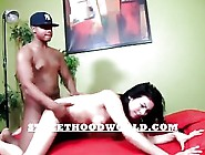 Hood Rat Gets Big Black Dick In Her Hole