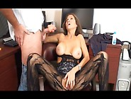 Stepmother Is A Porn Actress And Jerks Off Stepson