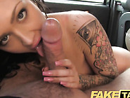 Horny Brunet Fucked By The Taxi Driver In A Hard Way