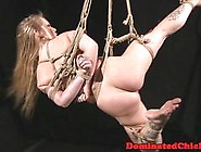 Restrained Euro Sub Whipped And Fucked Hard
