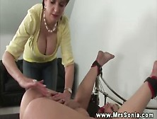 Mrs Sonia Not Only Dominates Males Ladies Are Welcome