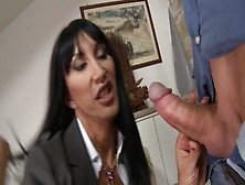 Nastyplace. Org - Angela Hot & Sexy Italian Mom In Black Stocking