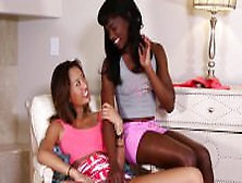 Alina Li And Ana Foxxx Get Drilled By A Daddy