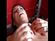 Super Cute Chubby Brunette Fucks Her Fat Juicy Pussy 4 U